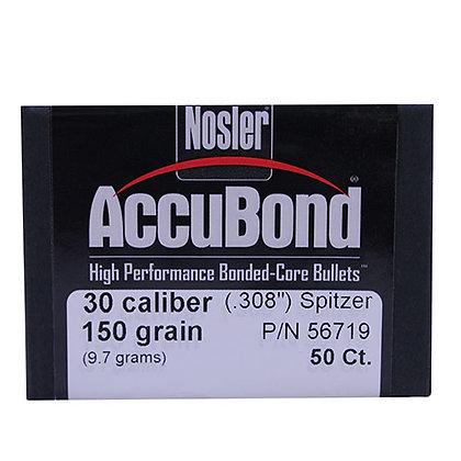 30 Cal 150gr  AccuBond (50 ct)