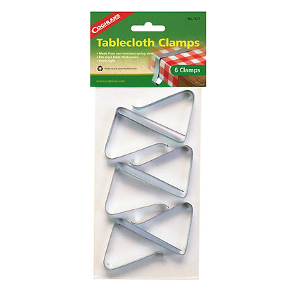 Tablecloth Clamps - pkg of 6