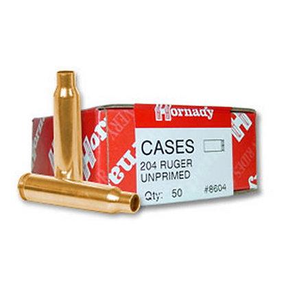 204 Ruger Unprimed Brass /50