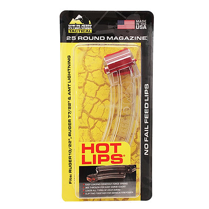Hot Lips Clear Clip 25 Round