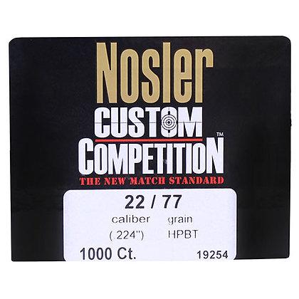 22 Cal 77gr CstCmp HPBT (1000 ct)