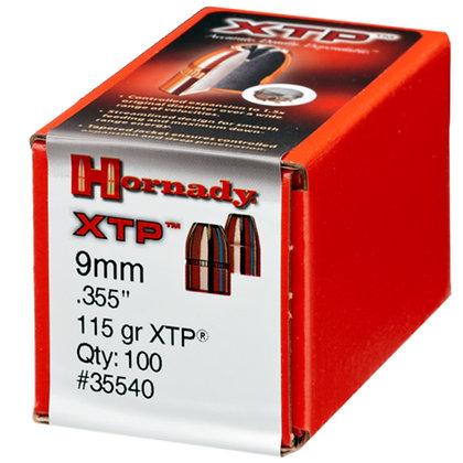 9mm .355 115gr HP/XTP /100