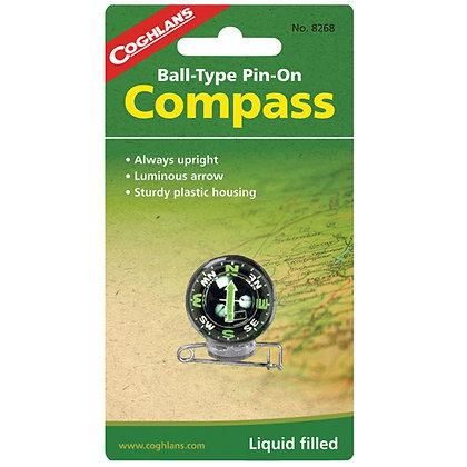 Pin-On Compass, Ball