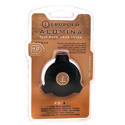 Alumina Flip Back Lens Cover - 40mm