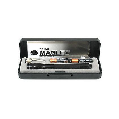 AAA Mini Mag Present-Bat Black