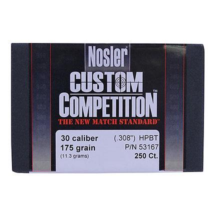 30 Cal 175gr CstCmp HPBT (250 ct)