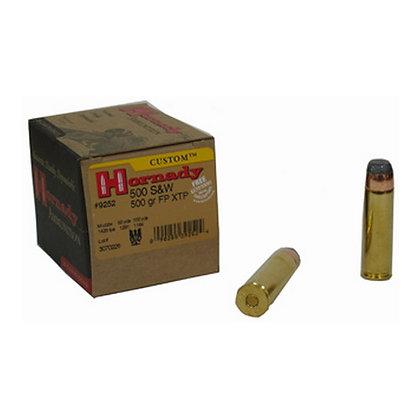 Ammo 500 S&W 500gr Fp Xtp/20