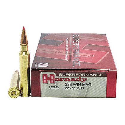 Ammo 338 Win Mag 225gr SST SPF/20