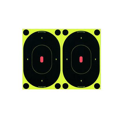 "B24-12 SNC 7"" Oval Target (Per12)"