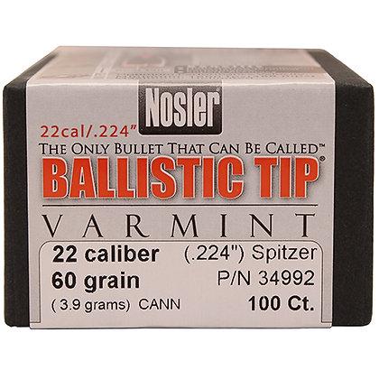 22 Cal 60gr Ball Tip (100 ct)