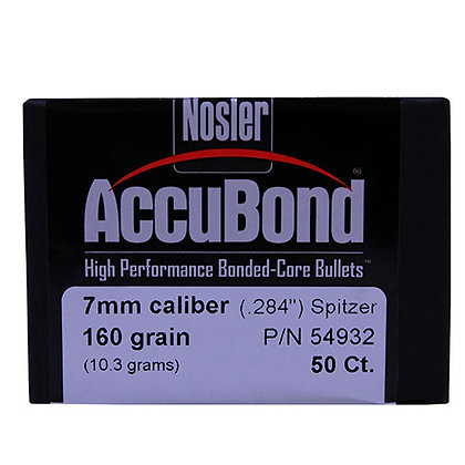 7mm 160gr  AccuBond (50 ct)