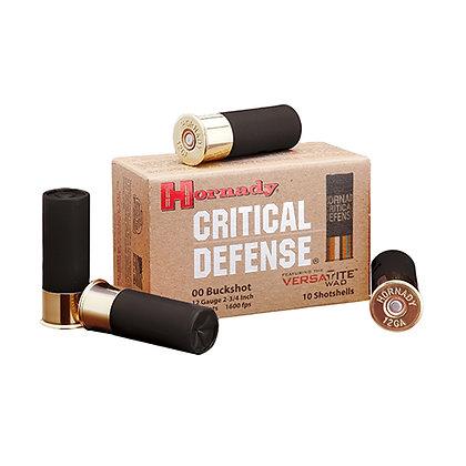 12ga 00 Buck Critical Defense /10