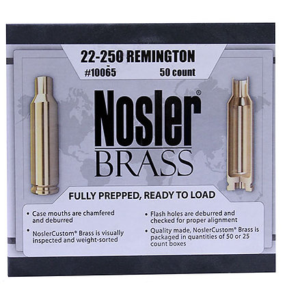 22-250 Remington Brass (50 ct)