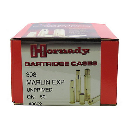 308 Marlin Exp Unprimed Brass /50
