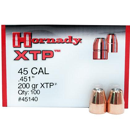 45 Cal .451 200gr HP/XTP /100