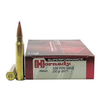 Ammo 338 Win Mag 200gr SST SPF/20