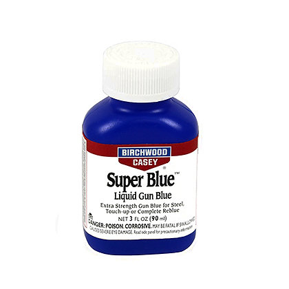 Super Blue Liquid Gun Blue  3oz.