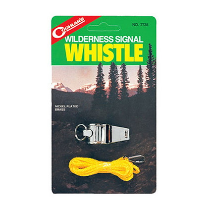 Wilderness Signal Metal Whistle