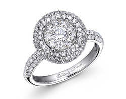 18k white gold 1.0ct outlook Lady Dream diamond ring DDR00519-7