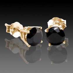 Y18K Black Diamonds Studs