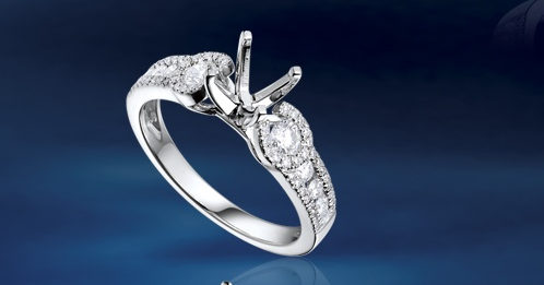 Lady Dream Diamond Engagement Ring