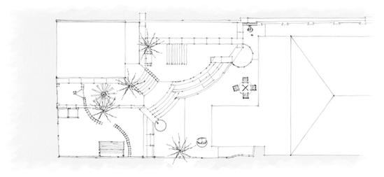 Garden design plan Clovelly