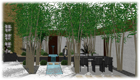 Water feature - Concept design - London