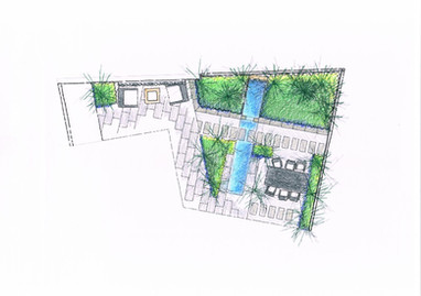 Garden design - plan Canberra
