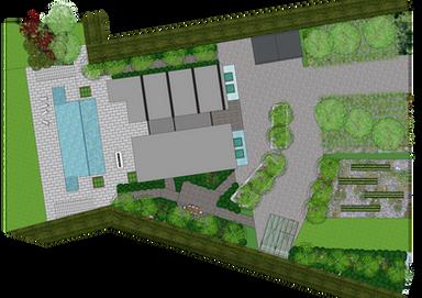 Country estate garden design Canberra
