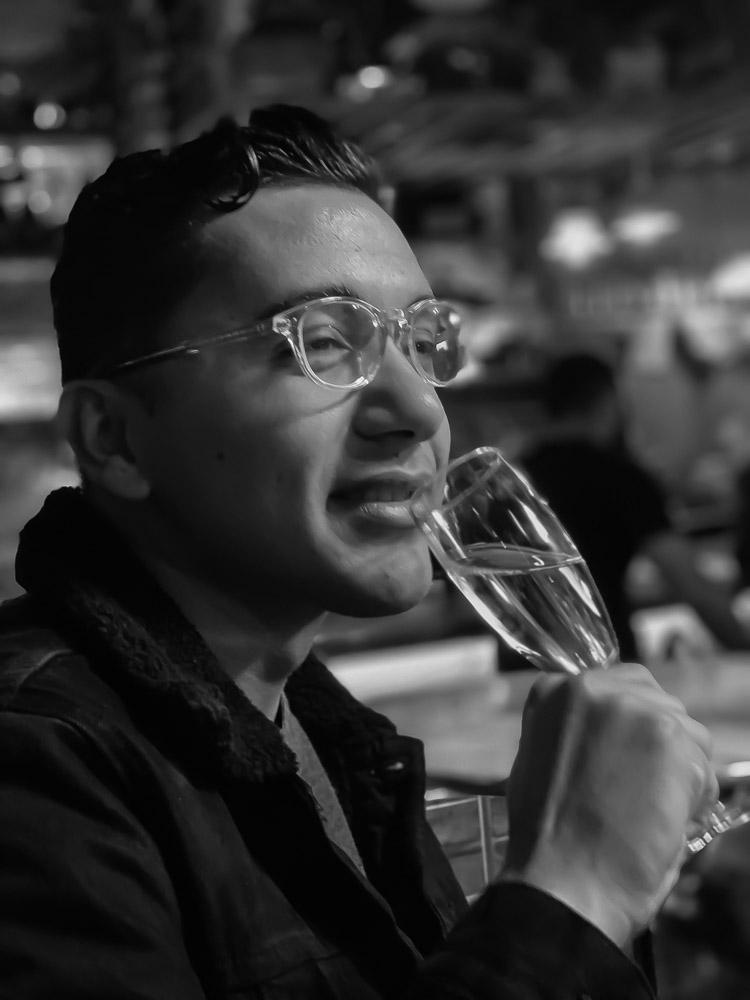 Mr. Champagne