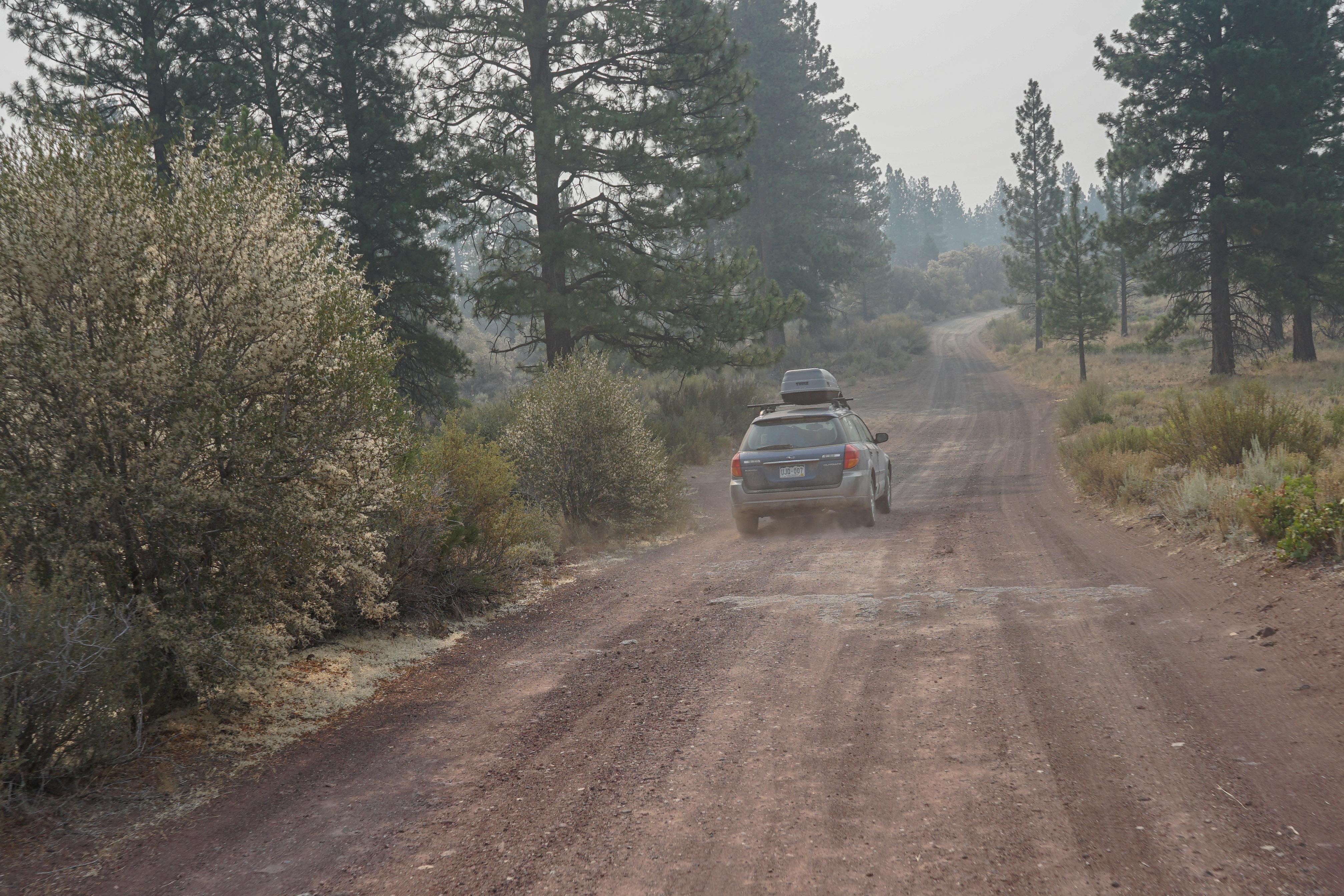 Dirt roads and daring souls.