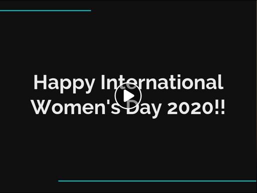 Happy International Womens Day 2020!
