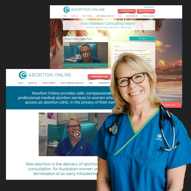 Dr Emma Boulton is proud to launch the Abortion Online service