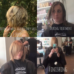 Hair straightening - its new and its amazing ...