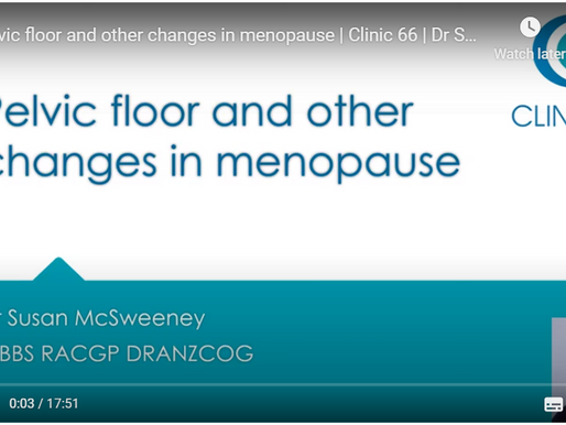 Pelvic floor & other changes that rob your quality of life in menopause, & what you can do about it!