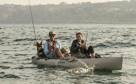 Hobie Mirage Oasis - Kayak fishing for t