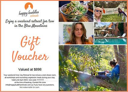 Happy Buddha Gift Voucher snip - no code