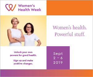 Women's Health Week 2019