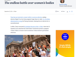 The Endless Battle Over Women's Bodies
