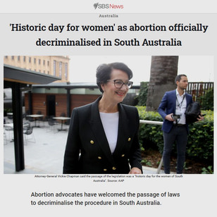 'Historic day for women' as abortion officially decriminalised in SA