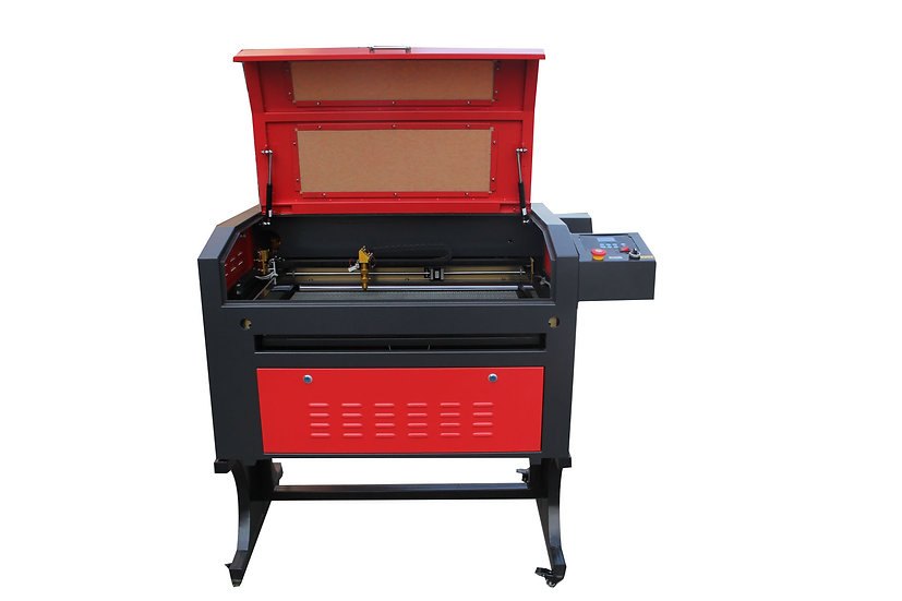 TEN-HIGH CO2 50W 110V 400x700mm Laser Engraving Cutting Machine with USB port.