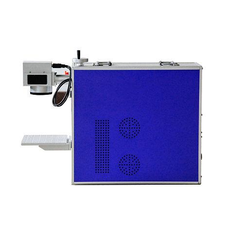 TEN-HIGH Portable Fiber Laser Marking Machine 110V Metal Laser Engraver