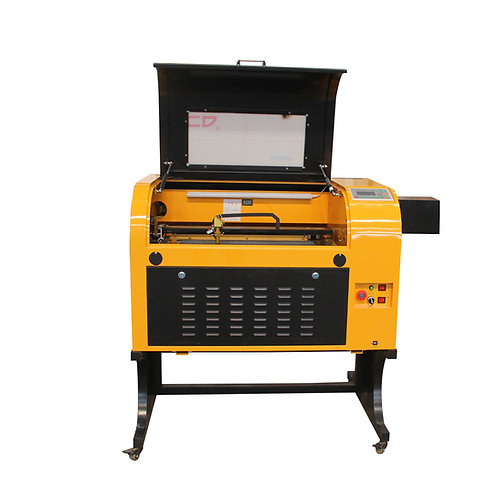 TEN-HIGH Upgraded Version CO2 400x600mm Laser Engraving Cutting Machine with USB