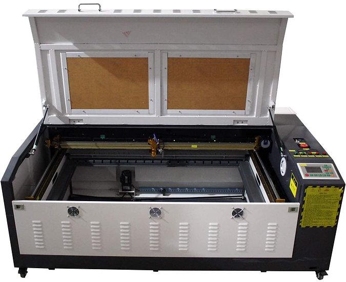 TEN-HIGH CO2 Laser Machine 1000x600mm with Small Desktop, Offline Version