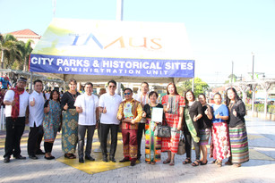 Awarding Ceremony at Imus Plaza