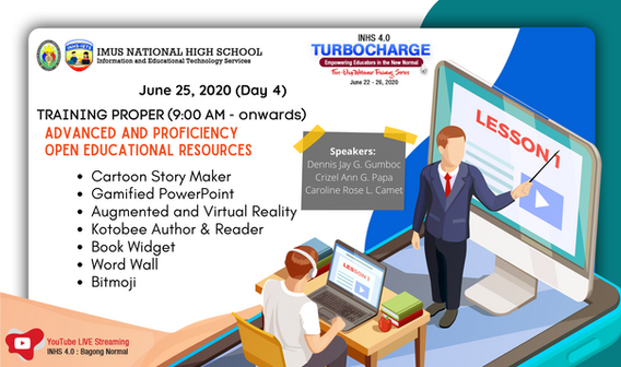 Day 4 : Advaned and Proficiency Open Educational Resources
