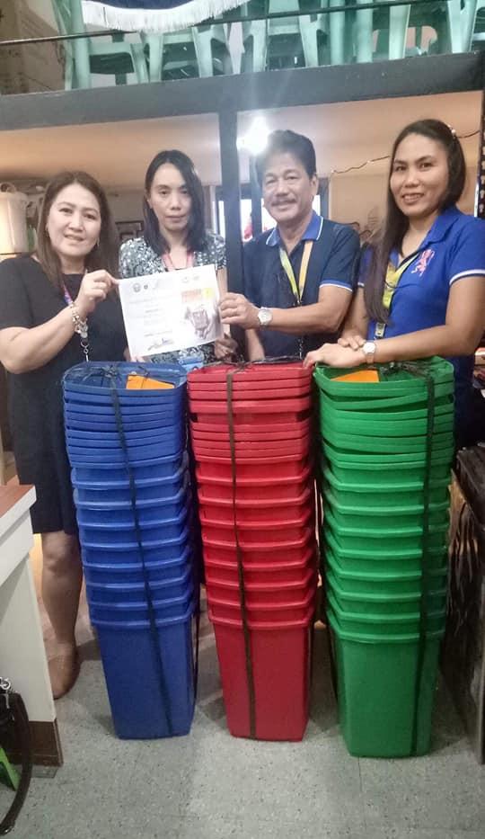 27 pcs of trash bins from IMEDECO