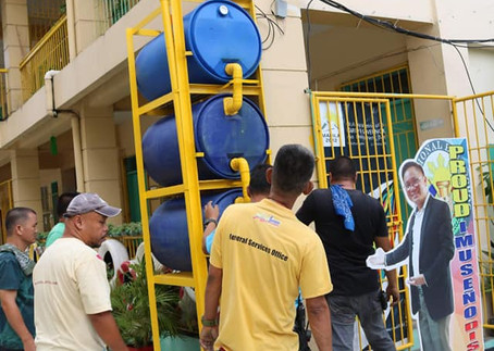 Installation of Water Harvesters