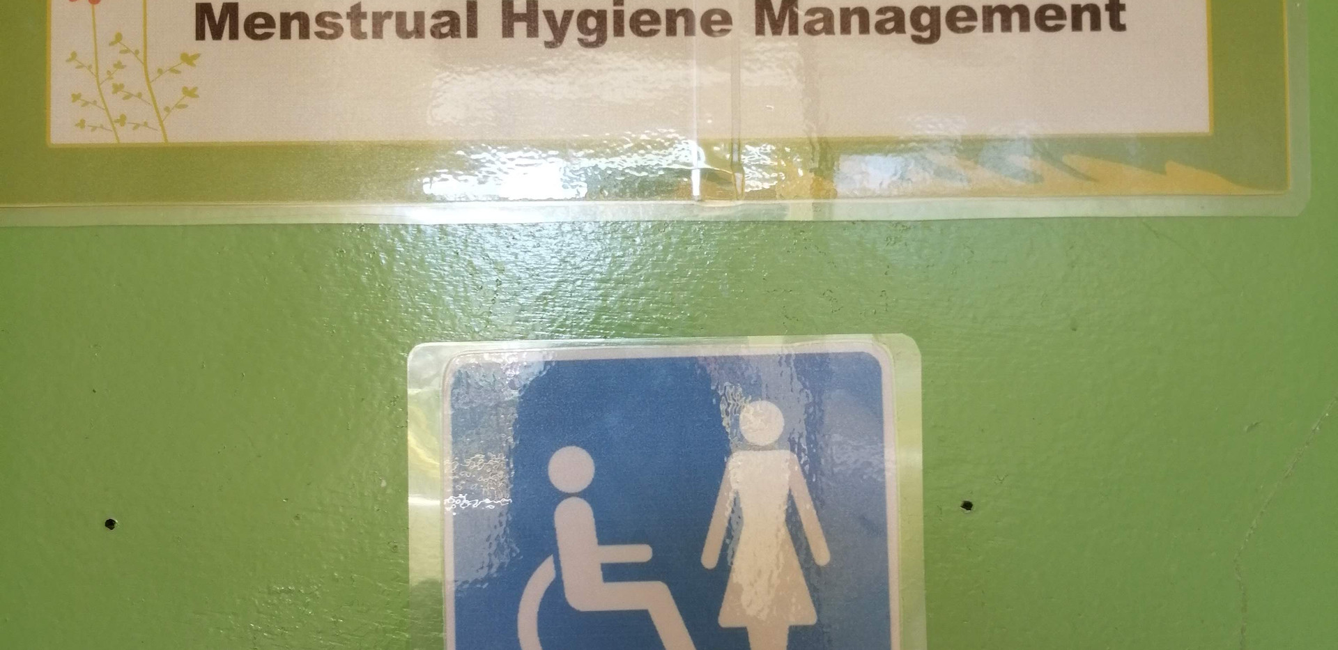 Menstrual Hygiene Management Toilet