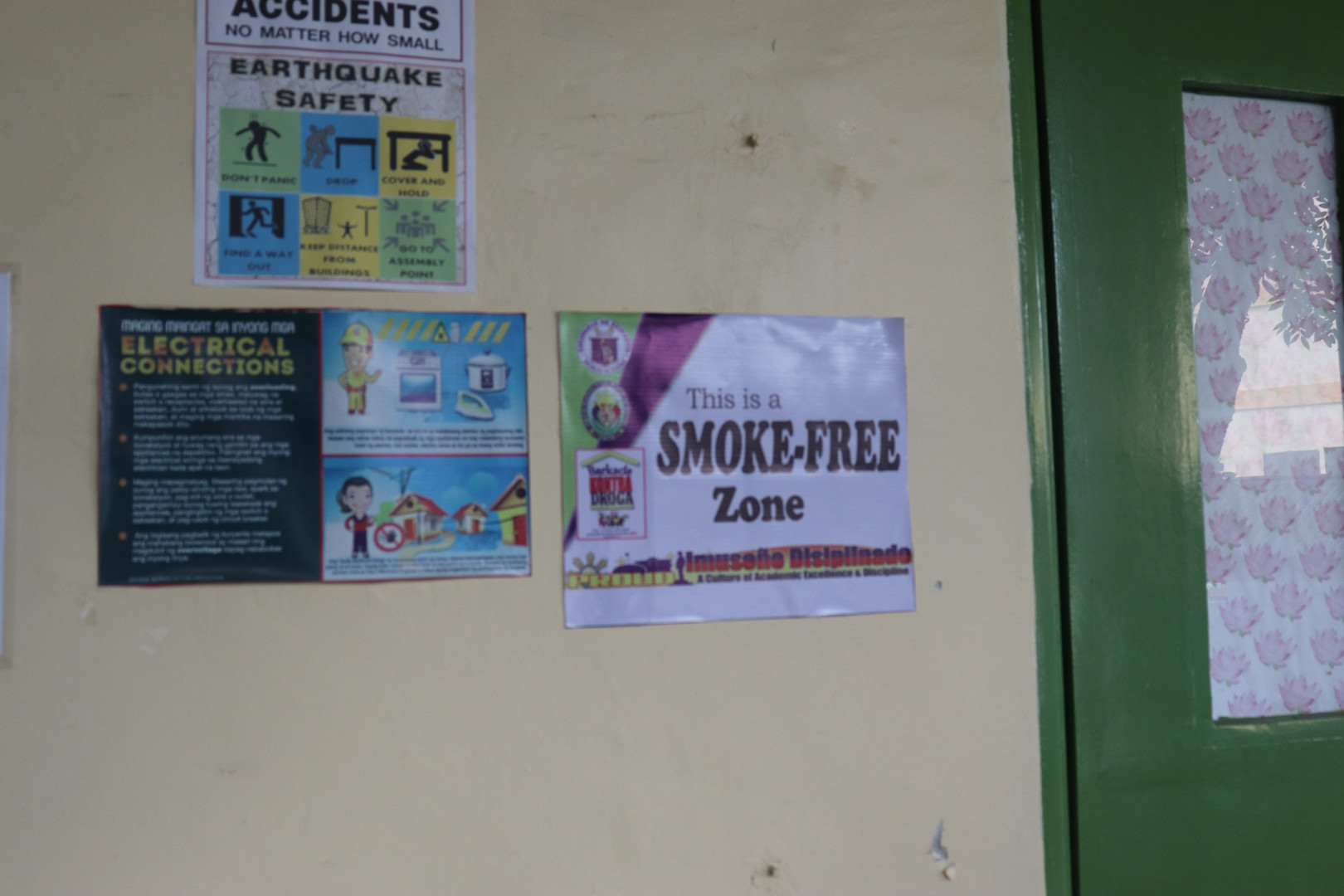 Posting of No Smoking Signages in School